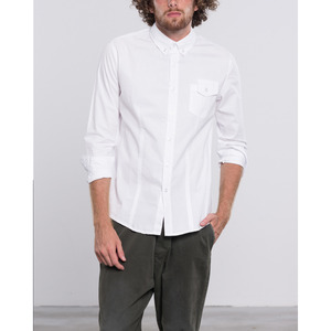 [지아니루포]Slim Fit Asymmetric Chest Pocket M067 셔츠