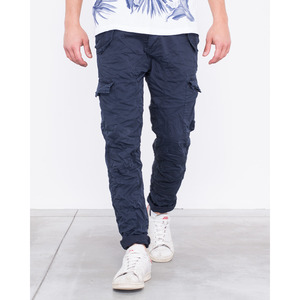 [지아니루포]Slim Fit Premium Washed J1809 카고팬츠(NV)